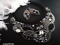 Sady šperkov - Polnočná kráľovná... luxusná sada - 11478029_