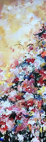 Obrazy - Kúsok babičkinej záhrady - 11479812_
