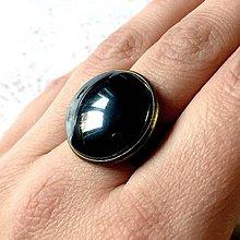 Sady šperkov - Hematite & Bronze Jewelry / Šperky s hematitom v bronzovom prevedení (Prsteň) - 11480272_