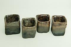 Nádoby - Set 4 štamperlíkov - 11481959_