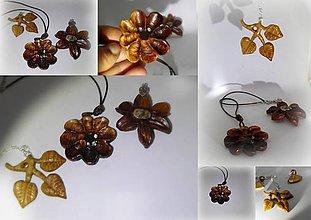 Náhrdelníky - drevené šperky... - 11479294_