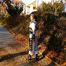 Iné oblečenie - lel,boho -komplet maxi sukňa a bunda 12 - 11479562_