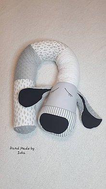 Textil - Valec - mantinel  pre deti  -  PSÍK - 11480935_