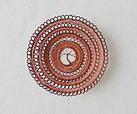 Dekorácie - Drôtená miska Strom života - 11480081_
