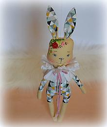 Bábiky - Zajo ,veľký parádnik - 11480743_