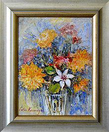 Obrazy - Posledné slniečká - znížená cena - 11481449_