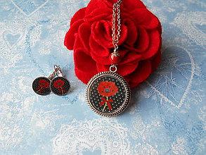 Sady šperkov - Makulienka v bodkách ukrytá - 11481391_