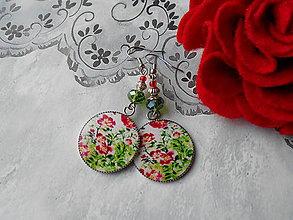 Náušnice - Voňavé krásky - 11481421_