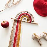- Makramé dekorácia HAPPINESS (Dorothy) - 11480887_