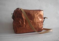 "Kabelky - SnapPap  ""Crossbody Reflex- Copper"" - 11480848_"