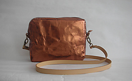 "Kabelky - SnapPap  ""Crossbody Reflex- Copper"" - 11480849_"