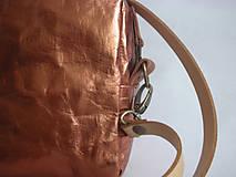"Kabelky - SnapPap  ""Crossbody Reflex- Copper"" - 11480852_"