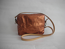 "Kabelky - SnapPap  ""Crossbody Reflex- Copper"" - 11480853_"