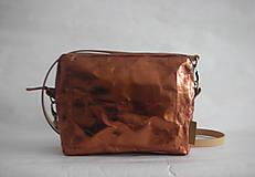 "Kabelky - SnapPap  ""Crossbody Reflex- Copper"" - 11480857_"