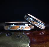 Prstene - obrúčka- PREHISTORIC ELEGANCE - 11480163_