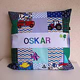 Úžitkový textil - Bavlnená patchwork obliečka na vankúš/ rôzne/ na objednávku - 11481393_