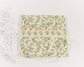 Papiernictvo - Jarné kvety - folk vyšívaný pozdrav - 11481505_