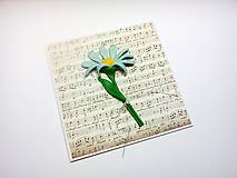 Papiernictvo - Pohľadnica ... noty - 11484949_