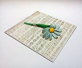 Papiernictvo - Pohľadnica ... noty - 11484958_