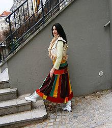 Sukne - Retro carmen maxi sukňa 5 - 11482302_