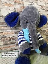 Hračky - Sloník - 11484450_