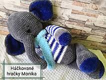 Hračky - Sloník - 11484453_