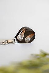 Náhrdelníky - Náhrdelník Smrekové semienka kvapka (2829 B CHO) - 11482501_
