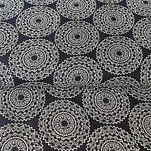 Textil - Mandaly, 100 % bavlna Nemecko, šírka 140 cm - 11482319_