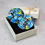 Náušnice - Náušnice Abstrakt Blue - 11483894_