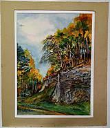 Obrazy - Slovenský raj/skalný masív na parkovisku Čingov - 11483001_