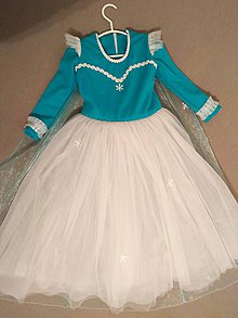 Detské oblečenie - Šaty Frozen - 11483825_