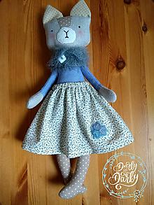 Hračky - Mačka Mica - 11485146_