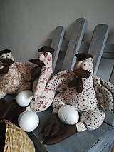 Dekorácie - Sliepočky - 11484527_