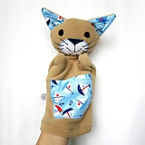 Hračky - Maňuška mačka - Kocúrik moreplavec - 11485569_