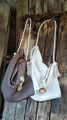 Kabelky - Ľanová taška štýl a pohoda ;) - 11485425_