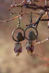 Náušnice - Náušnice - Vtáky v tŕní - 11488037_