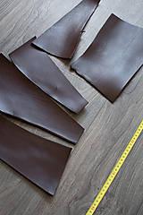 Suroviny - Zbytková hladenica tmavohnedá menšie kúsky (balík č. 3) - 11487332_