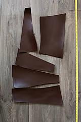 Suroviny - Zbytková hladenica tmavohnedá menšie kúsky (balík č. 3) - 11487333_