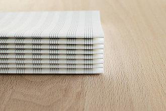 Papier - Notový papier v dvojhárkoch - 11486388_