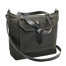 Veľké tašky - Unisex taška PLAY GREEN - 11487376_