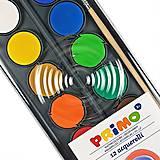 PRIMO . vodové barvy . 12 odstínů