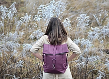 - RollTop ruksak Rolly (baklažánový) -20% - 11490462_