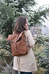 - RollTop ruksak Rolly (hnedý)  - 11490481_
