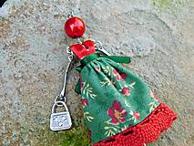 """Náhrdelníky - Náhrdelník """"Slečna v zelenej sukničke"""" - 11490985_"""