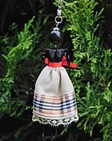 """Náhrdelníky - Náhrdelník """"Slečna v béžovej sukničke"""" - 11490990_"""