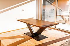 Nábytok - Dubový jedálenský stôl - 11490164_