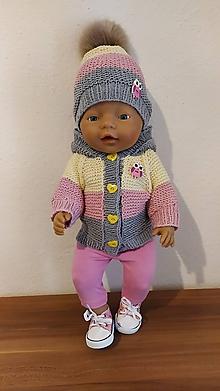 Hračky - Bibika oblečenie pre bábiku. - 11489218_