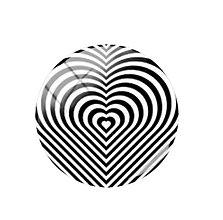 Komponenty - Kabošon sklenený zebra 12 mm  (I.) - 11490880_