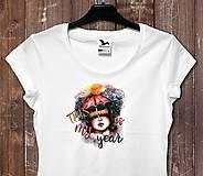 Tričká - Tričko Toto je môj rok - 11490787_