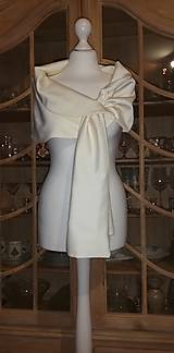 Štóla k svadobným šatám